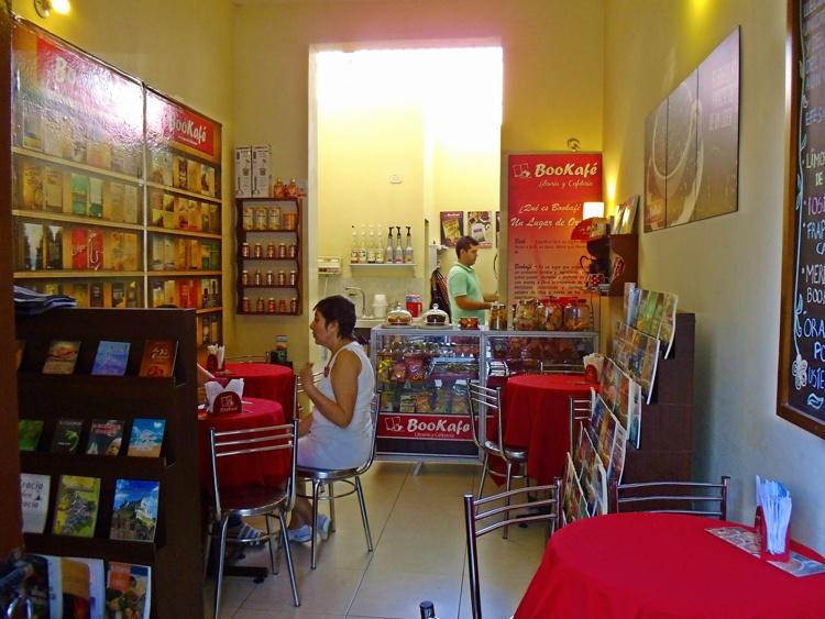 Cafetería Bookafé