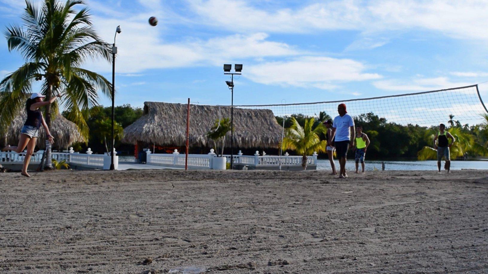 Voley playa en Lagomar