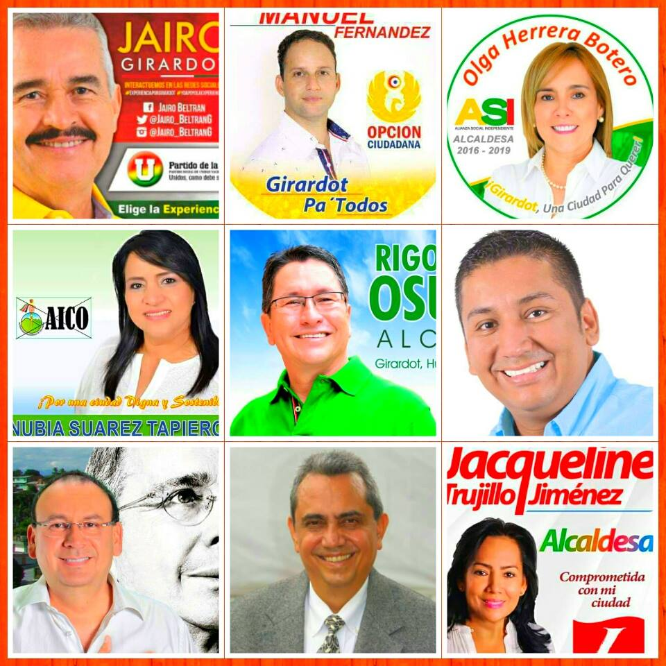 Candidatos a la Alcaldía de Girardot