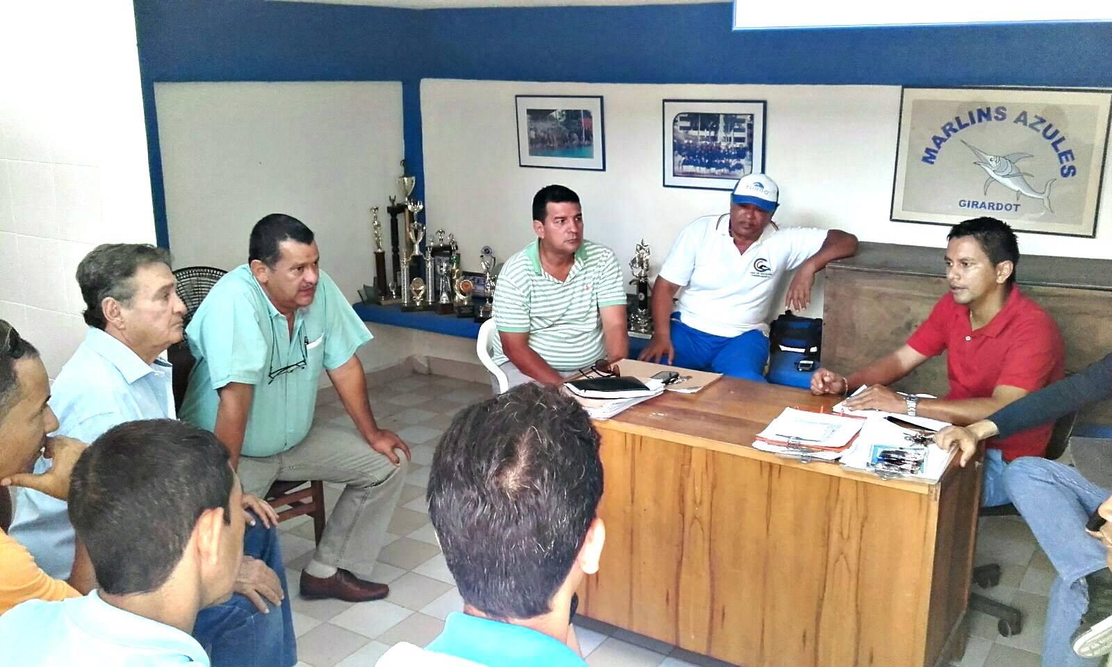Foto: Alcaldía Girardot Coordinación municipal de deportes en girardot.