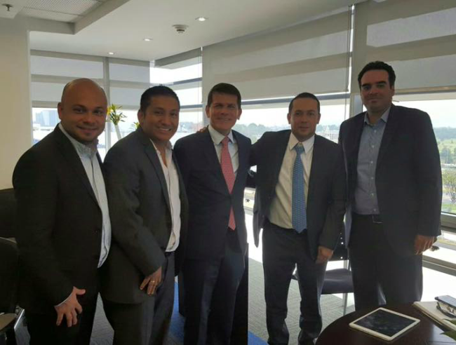 Foto de la web De izquierda a derecha; Carlos Prada, Fabián Villalba, Alfredo Bocanegra y Diego Escobar.