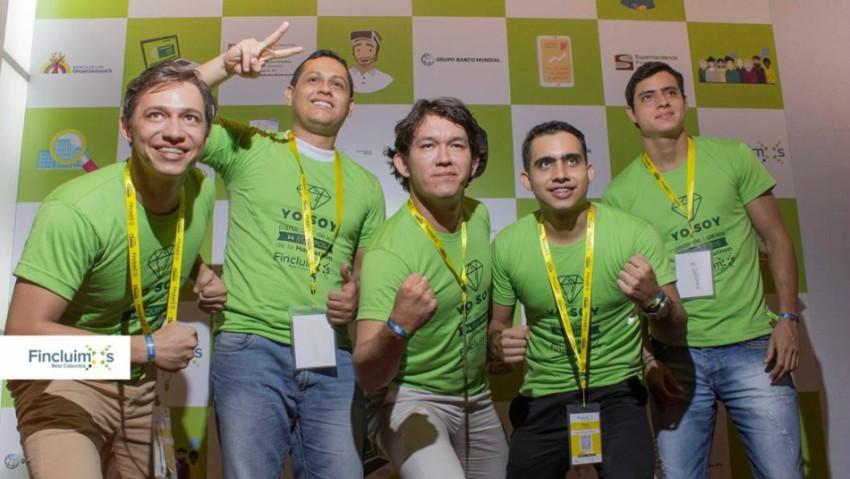 Foto: Archivo particular De izquierda a derecha: John Urbano, Carlos Arbey, Sebastián Cruz, Andrés Díaz y Javier Díaz.