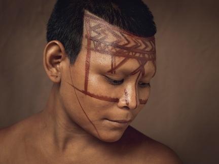 Exposición indígenas Colombianos