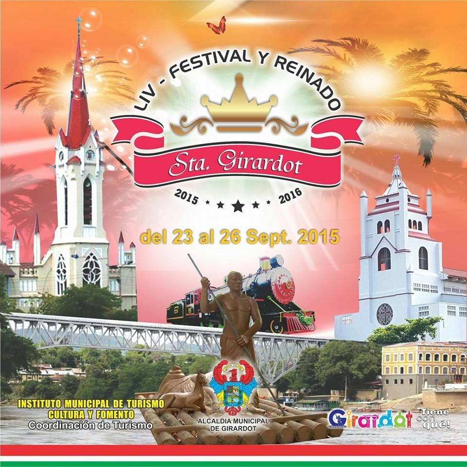 Programación del Festival y Reinado Turístico Señorita Girardot