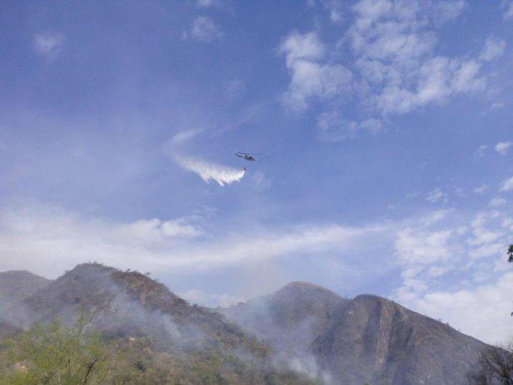 Incendios forestales en Girardot