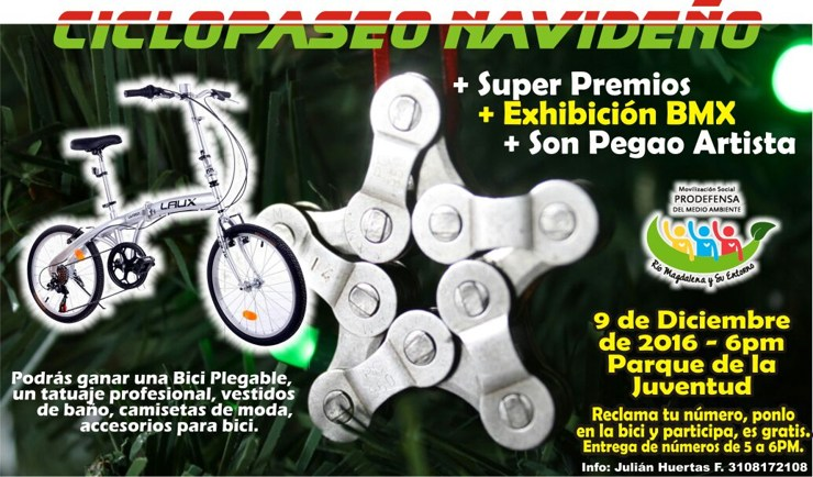 Ciclopaseo Navideño