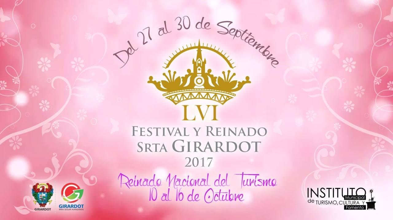 LVI Festival y Reinado Turístico Señorita Girardot 2017