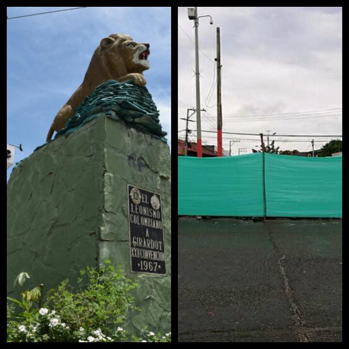 Remodelación del monumento al León