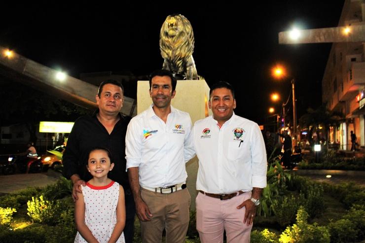 Visita de inspección a la Glorieta de 'El León'